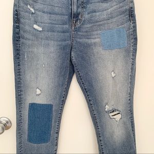 Madewell Jeans - Madewell Cruiser Straight Patch Jeans